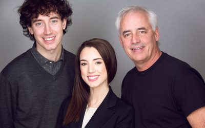 Photographing Headshots for The Doshiers